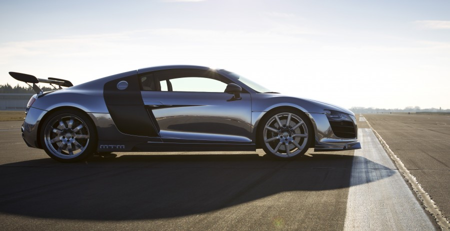 MTM R8 V10 Biturbo 802 hp - 892 Nm - aluminium-polished